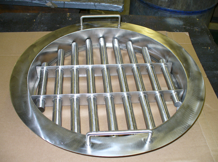 Industrial Magnetic Tube Grates