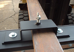Forklift Pockets for Magnetic Sweepers