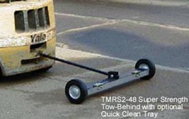 Rolling Metal Sweeper