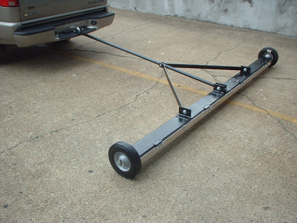 Pickup Truck Magnetic Sweeper