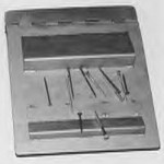 Neodymium plate magnet with ramp poles