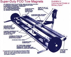 FOD Tow Magnet Design