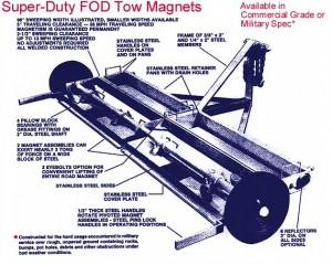 FOD Tow Magnet Design