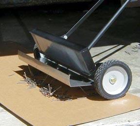 Magnetic Brooms for Tramp Metals